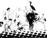 Pájaros 1 Stock de ilustración