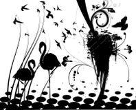 Pájaros 3 Ilustración del Vector