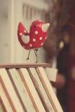 Pájaros de madera Imágenes de archivo libres de regalías
