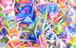 Pájaros de papel Imagen de archivo libre de regalías
