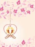 Pájaros en amor. Fotografía de archivo libre de regalías