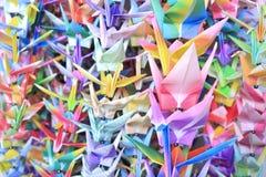Pájaros en los alambres Foto de archivo
