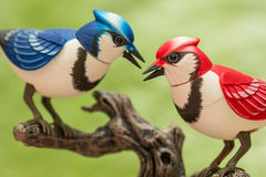 Pájaros mecánicos Imágenes de archivo libres de regalías
