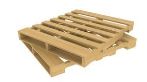 Pálete de madeira Foto de Stock Royalty Free