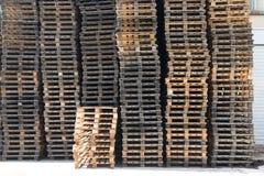 Pálete de madeira Foto de Stock