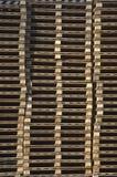 Páletes de madeira foto de stock royalty free