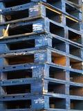 Páletes de madeira Imagens de Stock