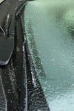 Pára-brisa congelado Imagem de Stock Royalty Free