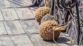 Pára-choques do navio de Viking Imagens de Stock