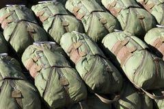 Pára-quedas do paramilitar Fotos de Stock