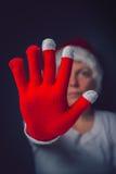 Párelo la Navidad Fotografía de archivo