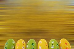 A Páscoa é um dos dois feriados os mais importantes na religião cristã Imagens de Stock