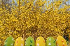 A Páscoa é um dos dois feriados os mais importantes na religião cristã Fotos de Stock Royalty Free