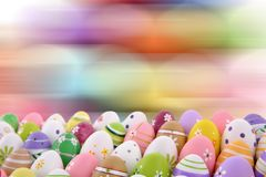 A Páscoa é um dos dois feriados os mais importantes na religião cristã Fotografia de Stock Royalty Free