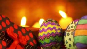 Páscoa colorida Paschal Eggs Celebration vídeos de arquivo