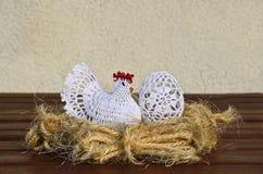 Páscoa decorada. imagens de stock