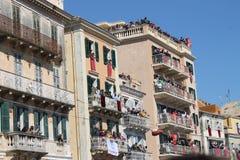 Páscoa em Corfu, Grécia Foto de Stock