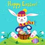 Páscoa feliz ilustração stock