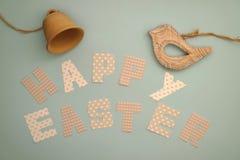 Páscoa feliz - pássaro e sino Imagem de Stock Royalty Free