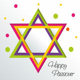 Páscoa judaica feliz Foto de Stock