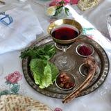 Páscoa judaica Seder Foto de Stock