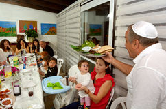 Páscoa judaica Seder - feriados judaicos Imagem de Stock