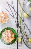 Páscoa, queques Foto de Stock