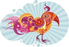 Pássaro ilustração royalty free