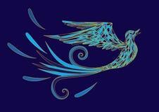 Pássaro azul Fotografia de Stock Royalty Free