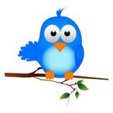 Pássaro azul Ilustração Royalty Free