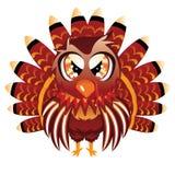 Pássaro bonito de Turquia Fotografia de Stock Royalty Free
