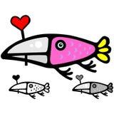 Pássaro bonito do Valentim Imagens de Stock Royalty Free