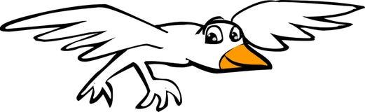 Pássaro branco Imagem de Stock