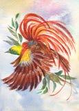 Pássaro brilhante ilustração do vetor