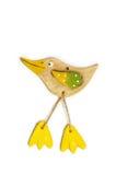 Pássaro cerâmico fotografia de stock