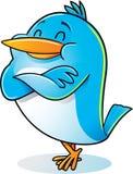 Pássaro com o braço dobrado Foto de Stock Royalty Free
