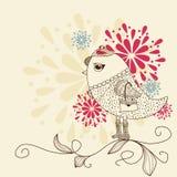 Pássaro da forma Imagem de Stock