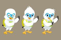 Pássaro da mascote Ilustração Royalty Free