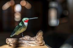 Pássaro de madeira Fotos de Stock Royalty Free