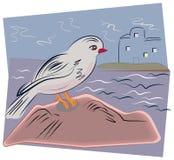 Pássaro de mar Imagens de Stock