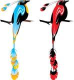 Pássaro de paraíso ilustração stock