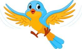 Pássaro de vôo ilustração stock