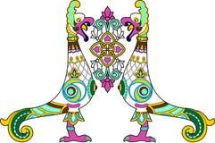 Pássaro decorativo Imagens de Stock Royalty Free