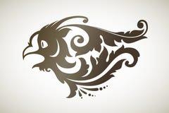 Pássaro decorativo decorativo Fotografia de Stock Royalty Free