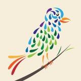 Pássaro do conto de fadas Fotografia de Stock Royalty Free