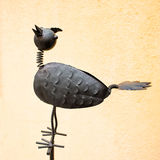 Pássaro do metal Imagem de Stock Royalty Free