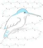Pássaro do zumbido Foto de Stock Royalty Free
