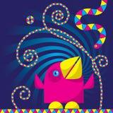 Pássaro dos desenhos animados Imagem de Stock