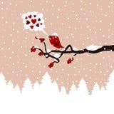 Pássaro em um tree9 Foto de Stock