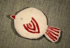 Pássaro feito a mão da argila Imagem de Stock